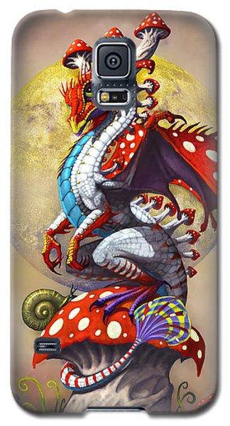 Fantasy Galaxy S5 Case - Mushroom Dragon by Stanley Morrison