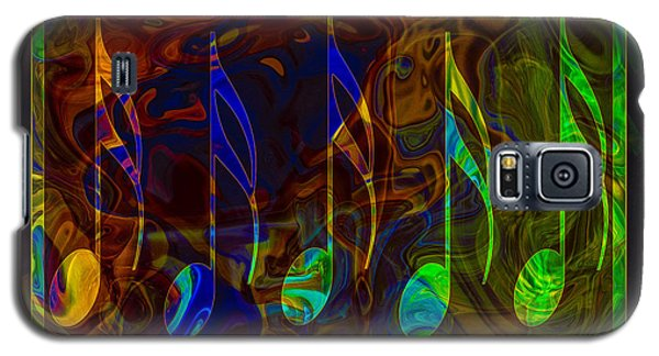 Music Is Magical Abstract Healing Art Galaxy S5 Case