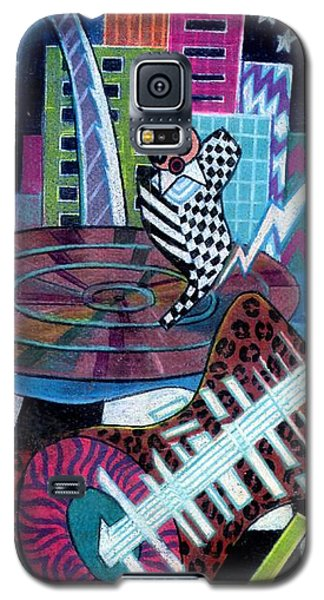 Music On The River Stl Style Galaxy S5 Case