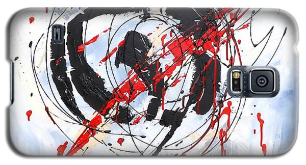 Musical Abstract 002 Galaxy S5 Case