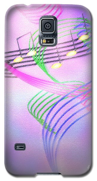 Galaxy S5 Case featuring the digital art Musical Alchemy by Dee Davis