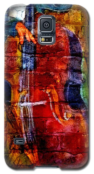 Musician Bass And Brick Galaxy S5 Case