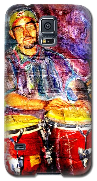 Musician Congas And Brick Galaxy S5 Case