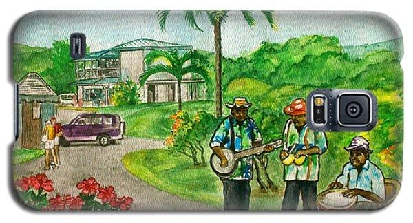 Musicians On Island Of Grenada Galaxy S5 Case