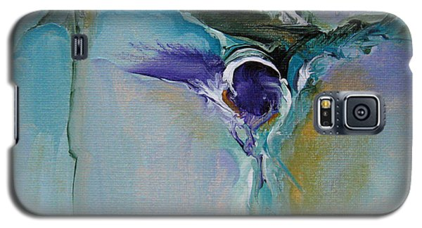 Galaxy S5 Case featuring the painting Musing 18 by Elis Cooke
