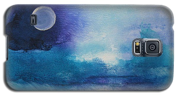 Galaxy S5 Case featuring the painting Musing 37 by Elis Cooke