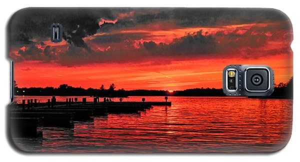Muskoka Sunset Galaxy S5 Case