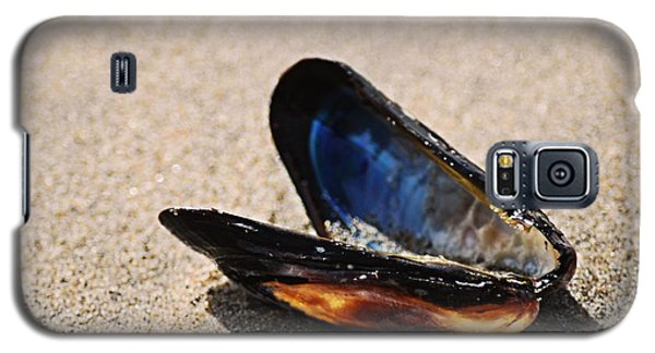 Galaxy S5 Case featuring the photograph Mussel Shell by Bob Wall