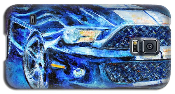 Galaxy S5 Case featuring the painting Mustang by Jennifer Godshalk