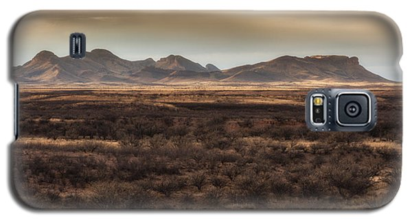 Galaxy S5 Case featuring the photograph Mustang Mountains by Beverly Parks