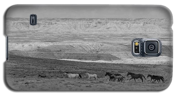 Mustangs Of The Adobe Galaxy S5 Case