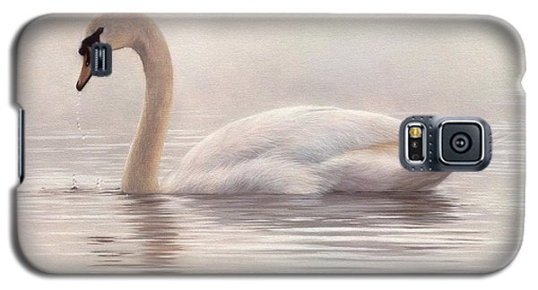 Mute Swan Painting Galaxy S5 Case