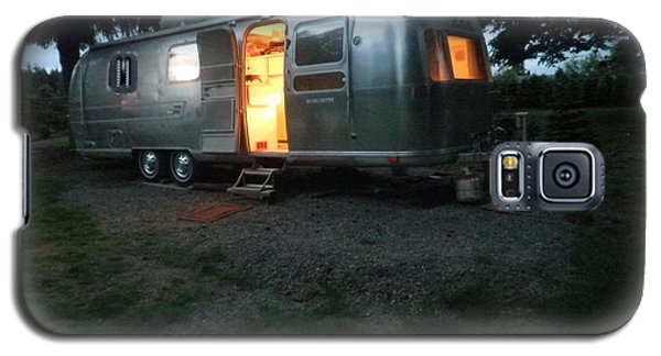 Galaxy S5 Case featuring the photograph My Airstream Dream by Suzanne McKay