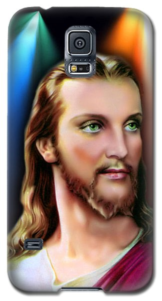 My Beautiful Jesus 3 Galaxy S5 Case by Karen Showell