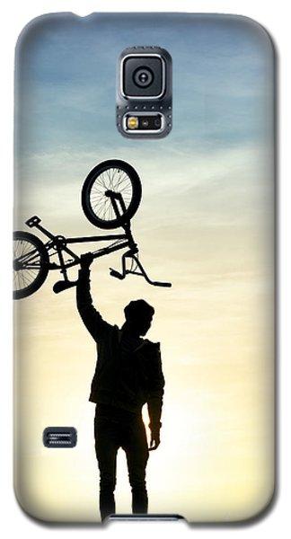 Bicycle Galaxy S5 Case - Bmx Biking by Tim Gainey