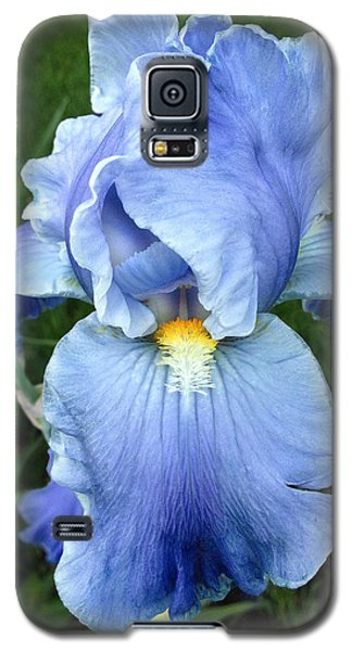 Galaxy S5 Case featuring the photograph My Blue Iris by Doug Kreuger