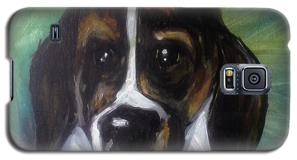 My Brother's Dog Galaxy S5 Case