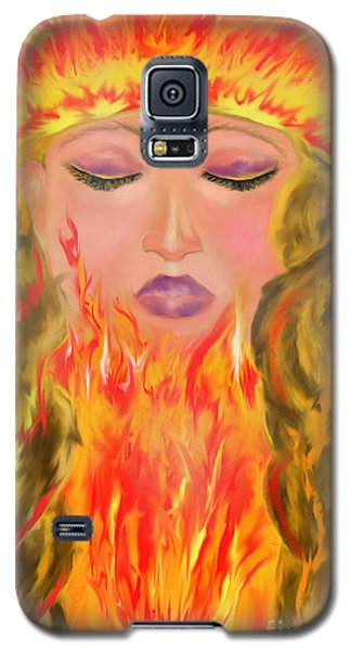 My Burning Within Galaxy S5 Case