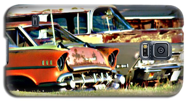 Galaxy S5 Case featuring the digital art My Cars by Cathy Anderson