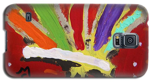 My Colorful Brush Galaxy S5 Case by Mary Carol Williams