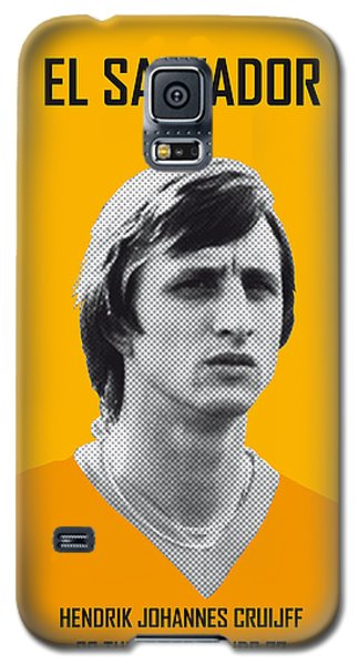 My Cruijff Soccer Legend Poster Galaxy S5 Case