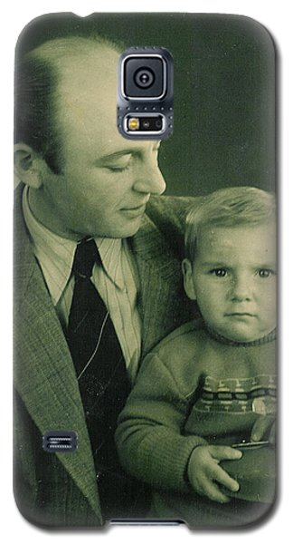Galaxy S5 Case featuring the photograph My Dad - My Angel by Itzhak Richter
