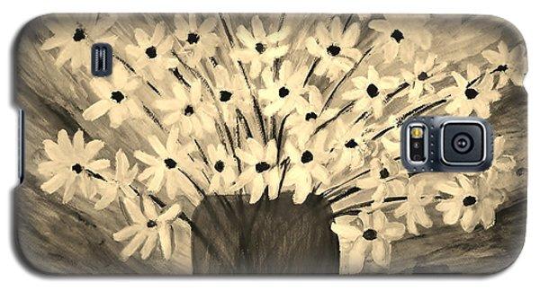 My Daisies Sepia Version Galaxy S5 Case