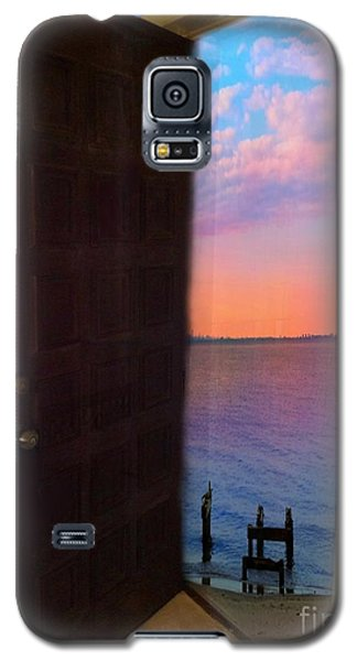 My Door To Success Galaxy S5 Case by Becky Lupe