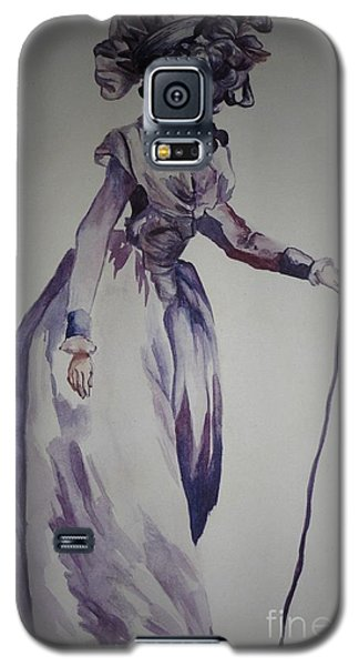 Galaxy S5 Case featuring the painting My Fair Lady by PainterArtist FIN
