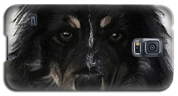 Galaxy S5 Case featuring the painting My Favorite Bud by Sharon Duguay