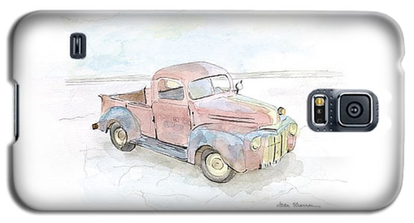 My Favorite Truck Galaxy S5 Case by Joan Sharron
