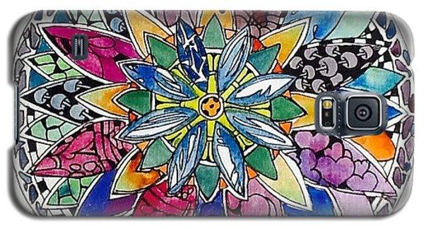 Galaxy S5 Case - Spring Mandala by Sandra Lira