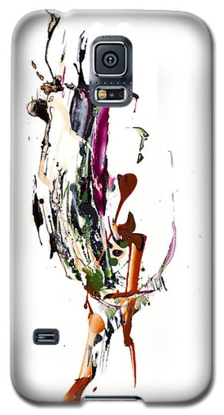 Galaxy S5 Case featuring the painting My Form Of Jazz Series - 10186.110709 by Kris Haas