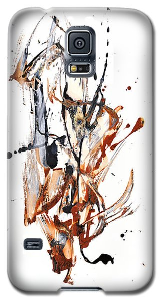 Galaxy S5 Case featuring the painting My Form Of Jazz Series - 10188.110709 by Kris Haas