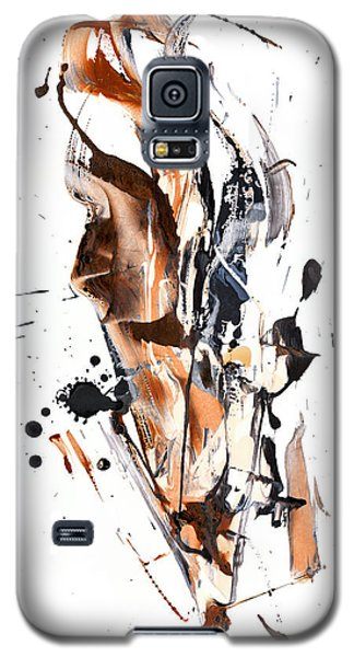 Galaxy S5 Case featuring the painting My Form Of Jazz Series - 10189.110709 by Kris Haas