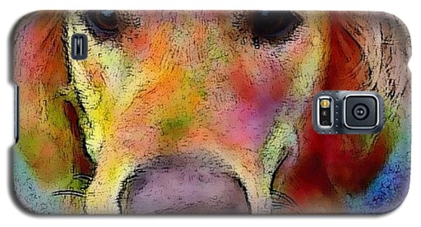 My Friends Dog #portrait #dogportrait Galaxy S5 Case