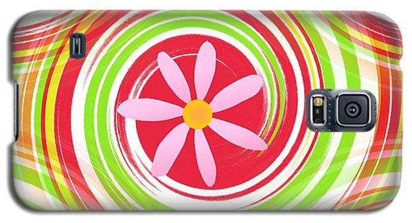 My Girl Room   Colorful Art  By Saribelle Rodriguez Galaxy S5 Case by Saribelle Rodriguez
