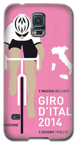 Bicycle Galaxy S5 Case - My Giro D Italia Minimal Poster 2014 by Chungkong Art