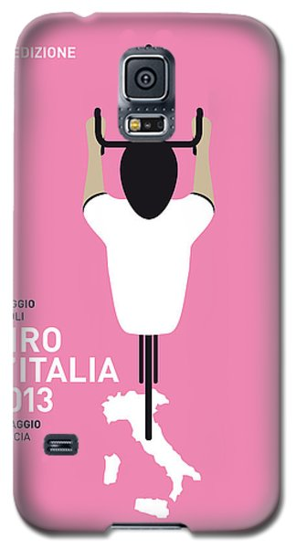 Bicycle Galaxy S5 Case - My Giro D'italia Minimal Poster by Chungkong Art