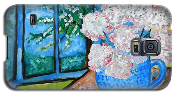 My Grandma S Flowers   Galaxy S5 Case by Ramona Matei
