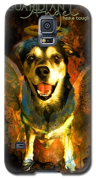 My Guardian Angel - Hollister Galaxy S5 Case by Kathy Tarochione