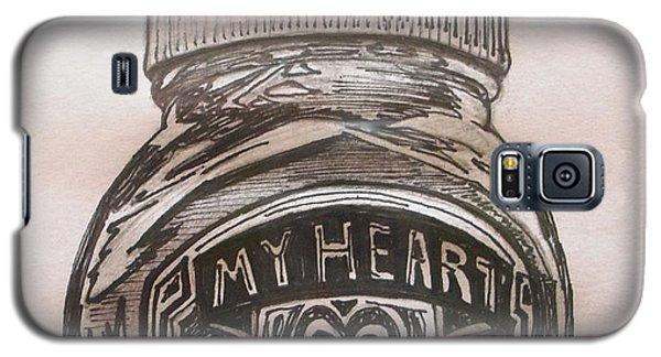 My Heart Galaxy S5 Case