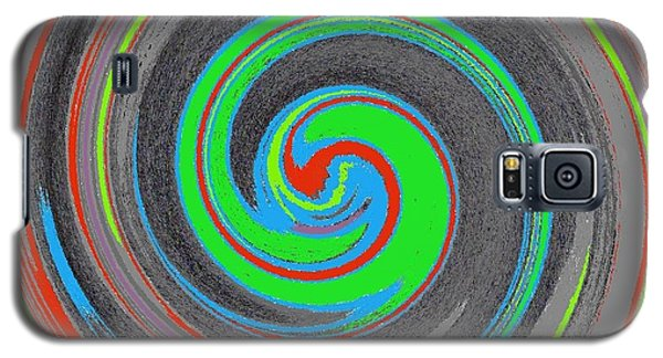 Galaxy S5 Case featuring the digital art My Hurricane by Catherine Lott