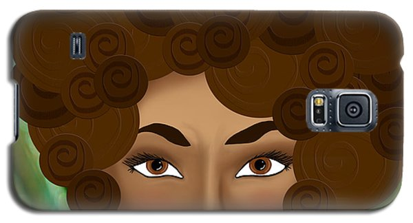 Galaxy S5 Case featuring the photograph My Inner Nubian Goddess by Lisa Knechtel