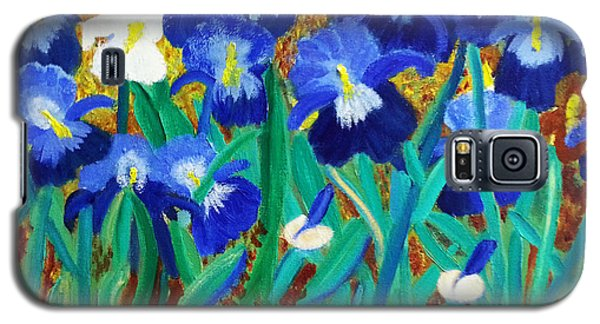 My Iris - Inspired  By Vangogh Galaxy S5 Case