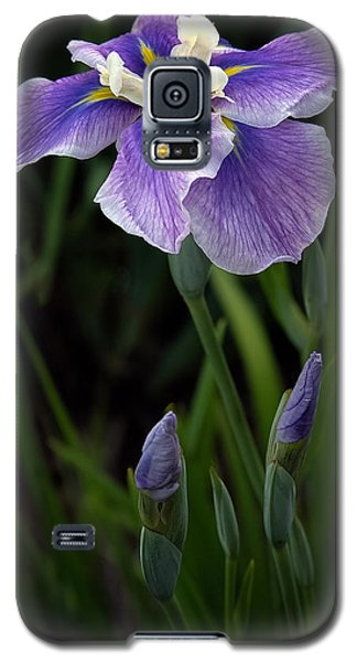 Galaxy S5 Case featuring the photograph My Iris by Penny Lisowski