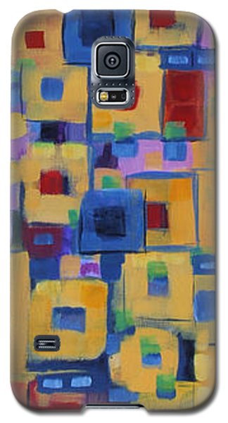 Galaxy S5 Case featuring the painting My Jazz N Blues 1 by Holly Carmichael