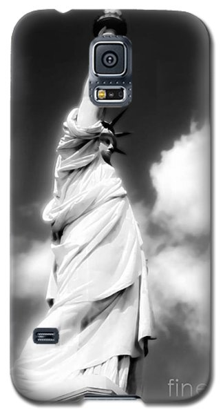 Galaxy S5 Case featuring the photograph My Lady Liberty by Janie Johnson