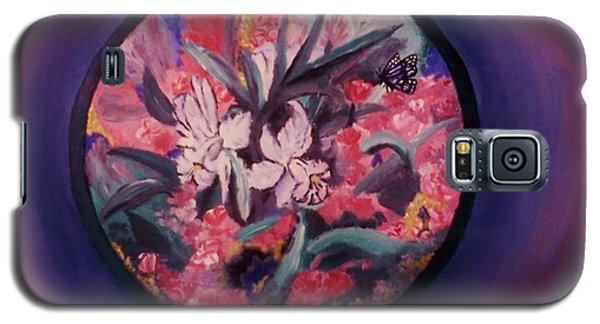 My Lilies Galaxy S5 Case by Christy Saunders Church