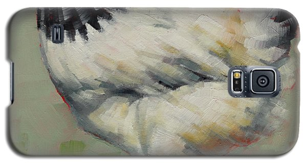 Light Sussex Hen Galaxy S5 Case by Margaret Stockdale